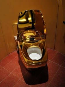 The worlds most expensive toliet