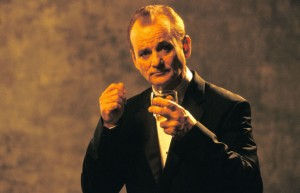 Mr Bill Murray gentleman drinker