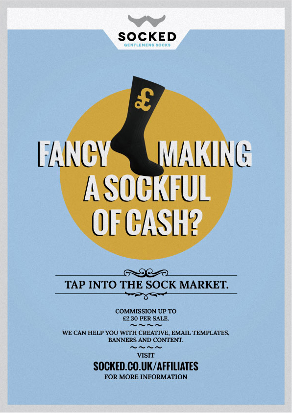 sock - socks - socked affiliate program