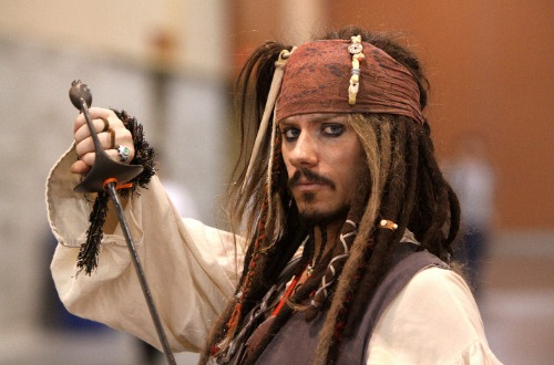 jack sparrow beard movie